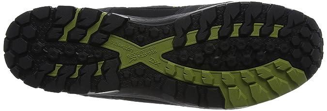Samaris Low, Chaussures de Randonnée Basses Homme, Noir (Black/Granite 9V8), 47 EURegatta
