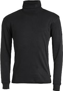Medico - Camiseta de esquí de manga larga de 100 % algodón, cuello ...