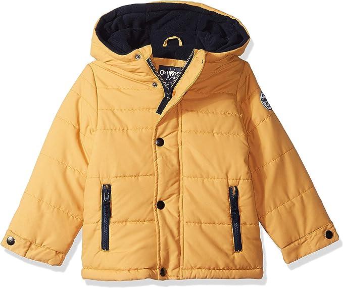 OshKosh BGosh Baby-Boys Little Man Puffer Jacket Down Alternative Jacket