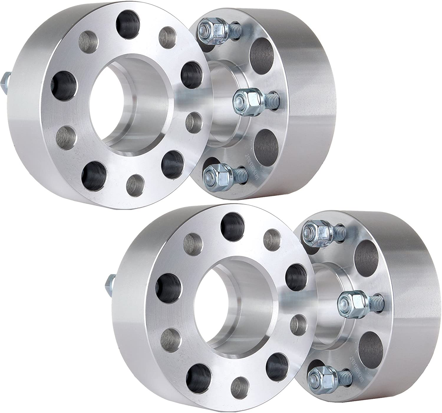 ECCPP 4PCS 2 Hubcentric Wheel Spacers 5x4.75 to 5x4.75 70.5mm fits for Chevrolet Camaro Pontiac GTO GMC S15 GMC Sonoma with Lip M12x1.5