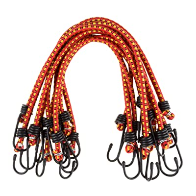 "Stalwart 18"" Bungee Cords - 10 Pack"