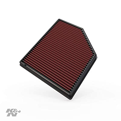 K&N Engine Air Filter: High Performance, Premium, Washable, Replacement Filter: 2006-2016 Volvo (S60, V60, XC60, S60 II, S80, S80L, V70 II, V70 III, XC 70, XC 70 II), 33-2418: Automotive