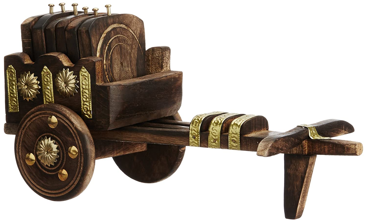 Birthday Gifts - Bullock Cart Coaster Set