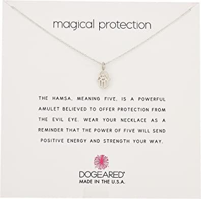 Amazon dogeared womens magical protection open hamsa necklace dogeared womens magical protection open hamsa necklace sterling silver one size aloadofball