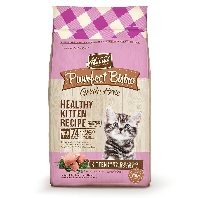 Merrick Purrfect Bistro Grain Free Dry Cat Food Healthy Kitten Recipe