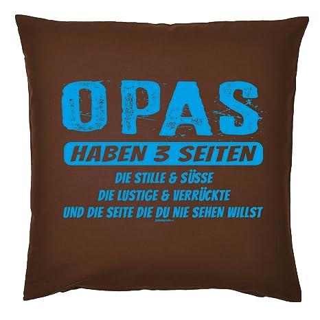 Art & Detail Shirt Cojín: Europa Papa Dad Día del Padre Opas ...