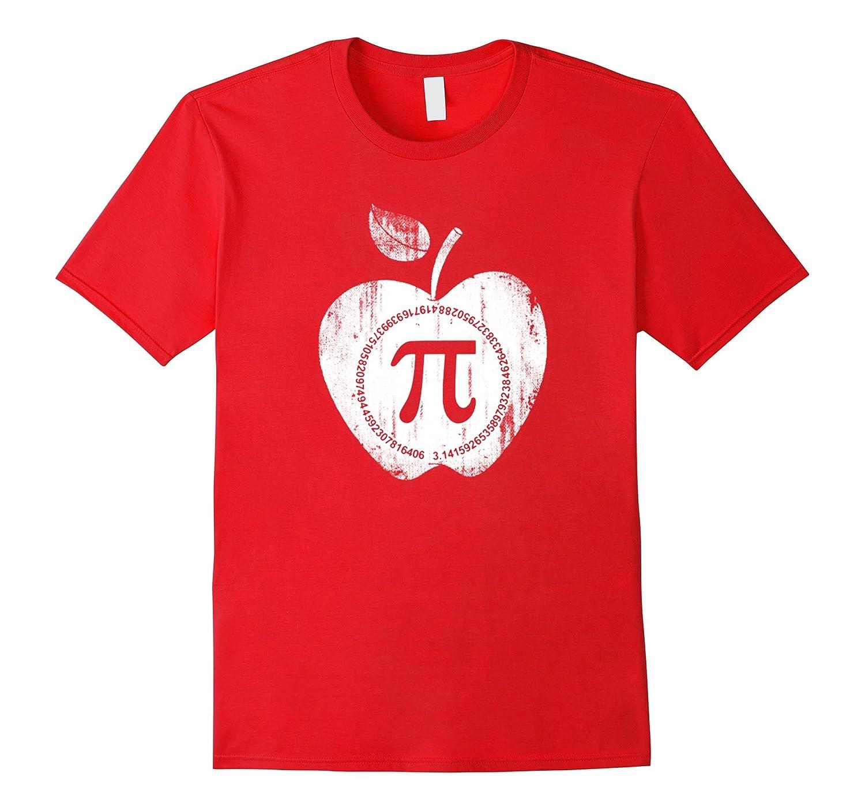 Apple Pi - Math Shirt Tshirt Pi Day 2017 shirts-TD