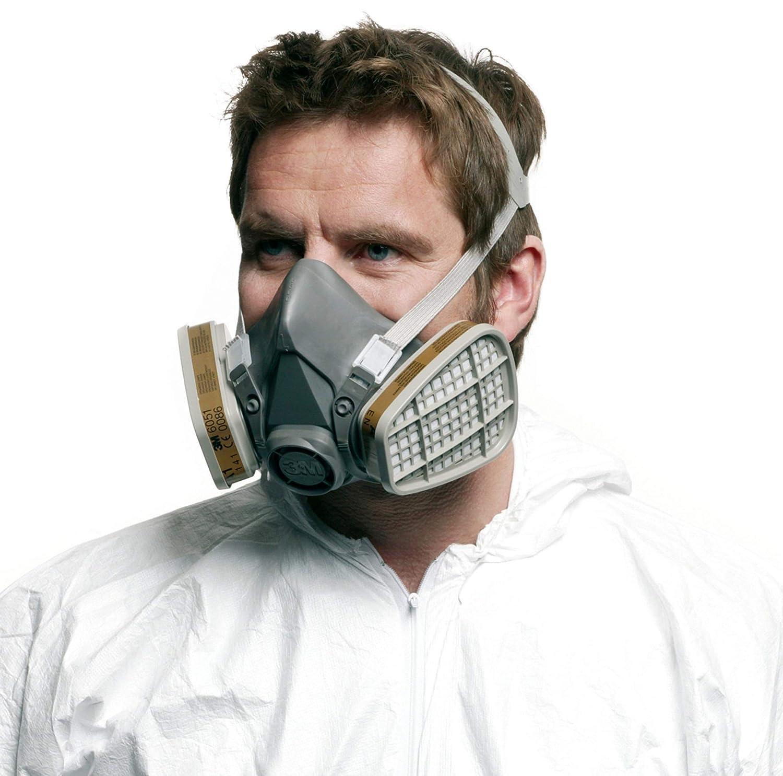 maschera facciale 3m 6000