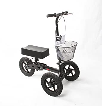 Amazon.com: Salud puerto all-Road rodilla Scooter (Negro ...