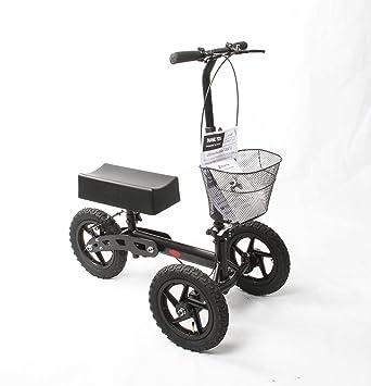 Amazon.com: Salud puerto all-Road rodilla Scooter (Negro ...