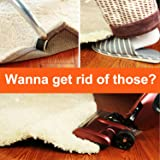 Rug Gripper Anti Curling Sliding, Strong Stickiness without Hurting Floor, Reusable and Easy to Remove for Various Floors and Carpets