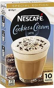 NESCAFÉ NESCAFE Cookies & Cream Latte Coffee 10 Pack, 165 g