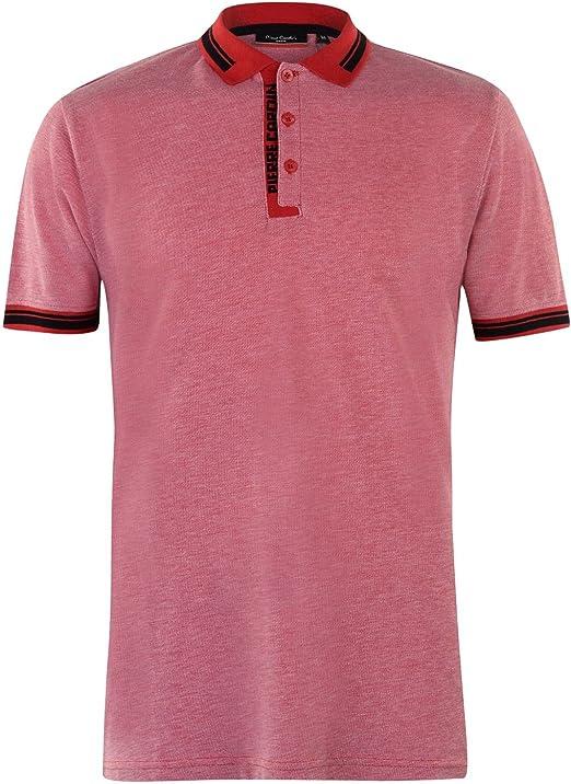 Pierre Cardin Hombre Camisa Polo Contrastante