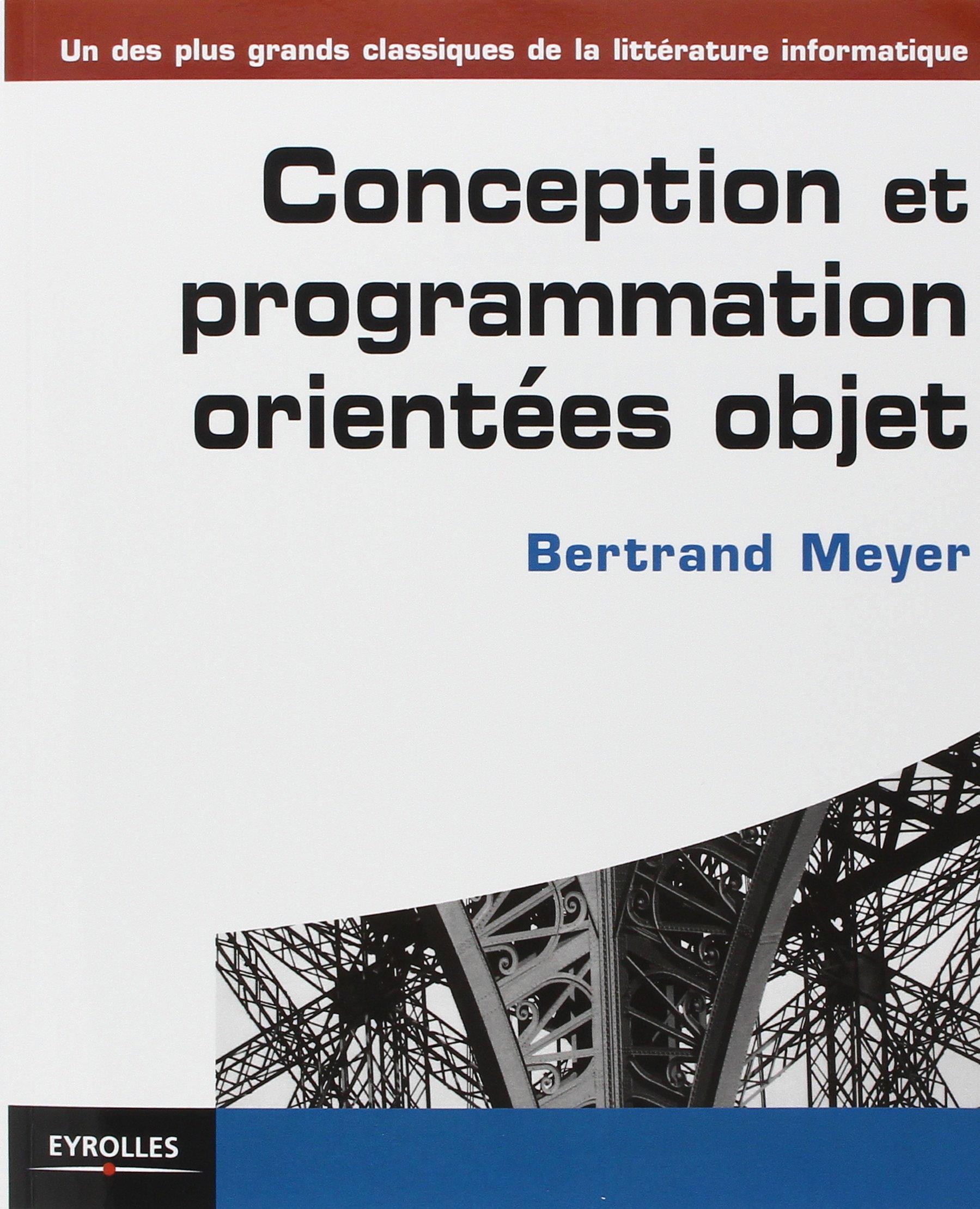 Amazonfr Conception Et Programmation Orientées Objet Bertrand