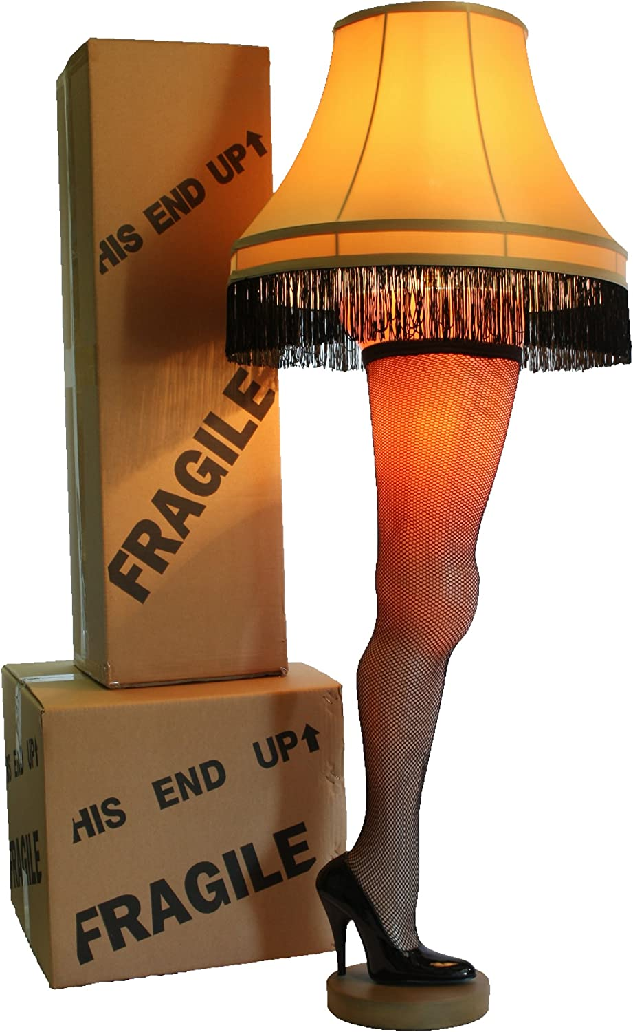 A Christmas Story Deluxe Full Size 50 Leg Lamp