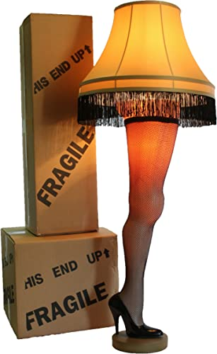 movie gift laser cut acrylic gold Christmas humor funny CLEARANCE 2019 Leg Lamp Ornament