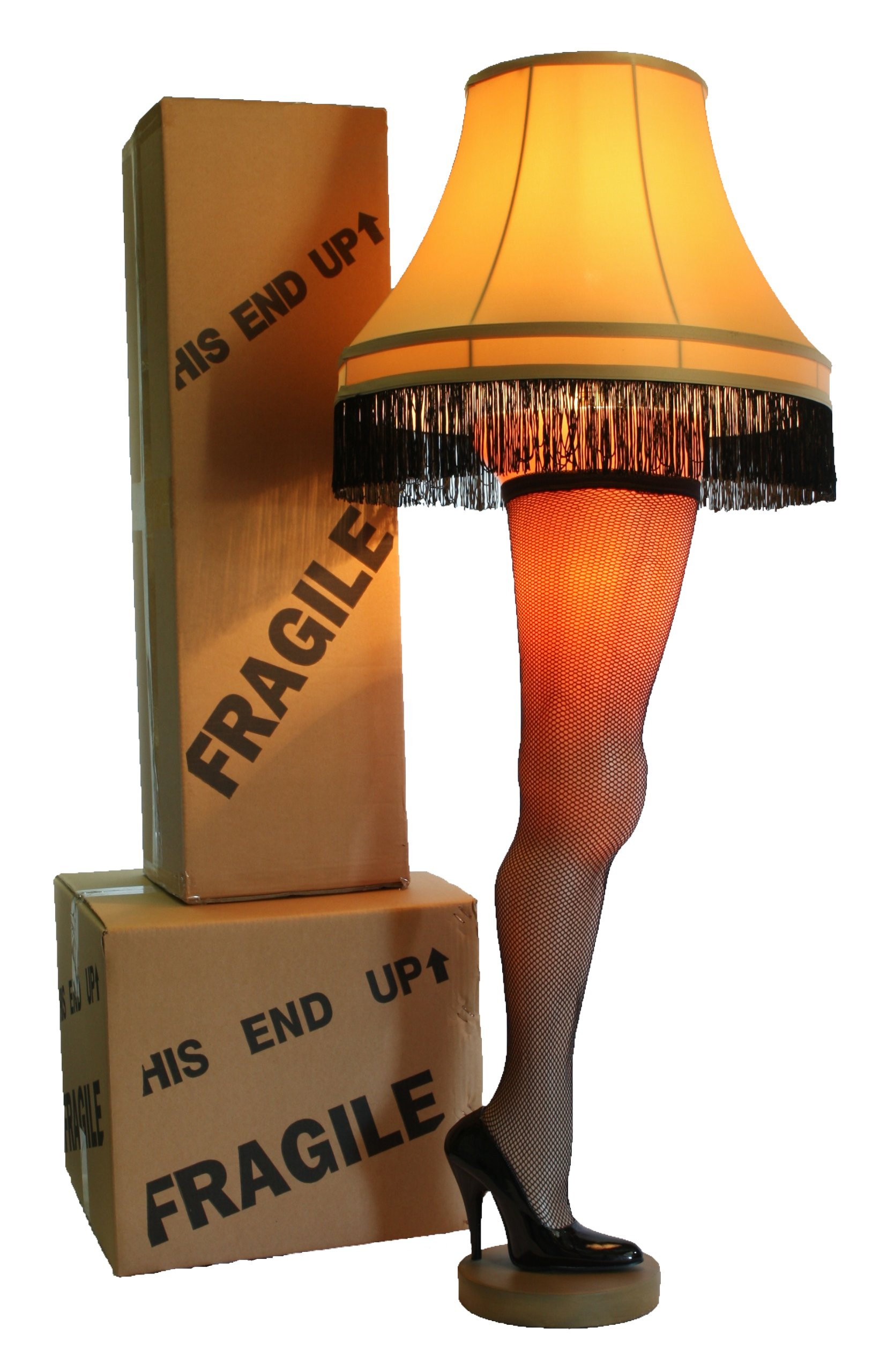 A Christmas Story Deluxe Full Size 50'' Leg Lamp by A Christmas Story House