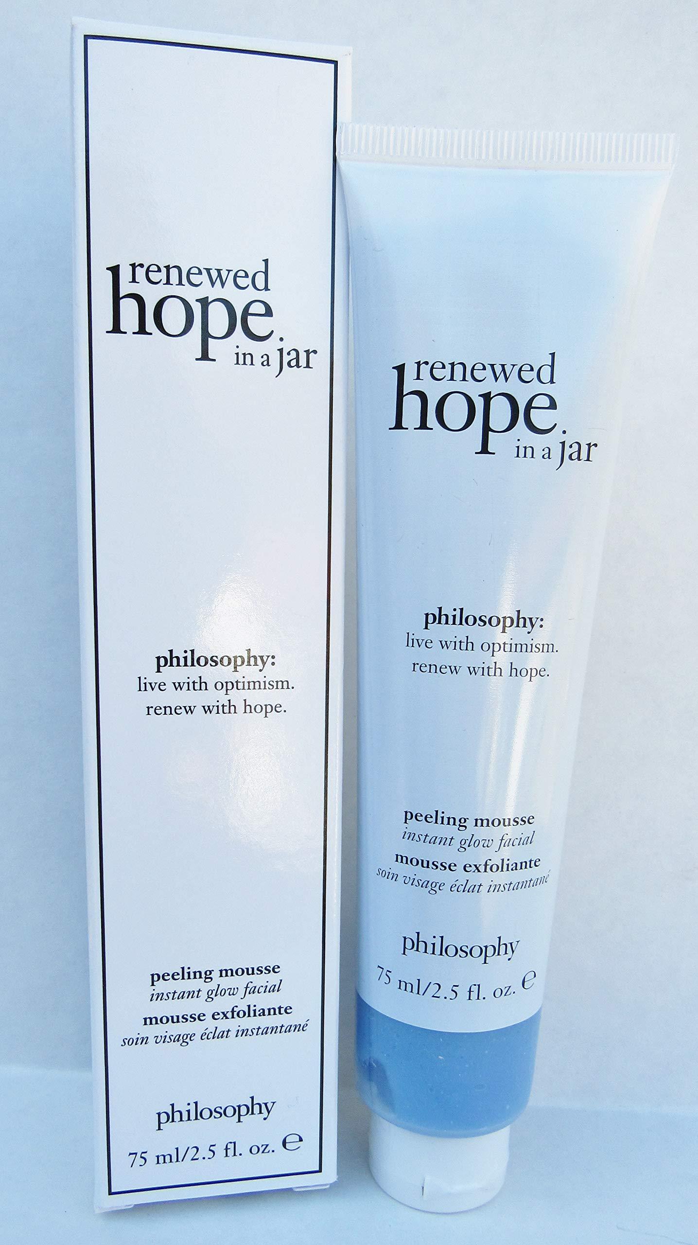Philosophy Renewed Hope In A Jar Peeling Mousse By Philosophy for Women - 2.5 Oz Mousse, 2.5 Oz by Philosophy