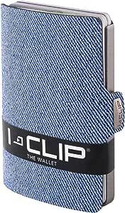 I-CLIP ® Cartera Jeans-Mirada Azul (Disponible En 2 Variantes)
