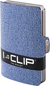 I-CLIP Wallet Jeans-Look Blue (Available In 2 Variants)