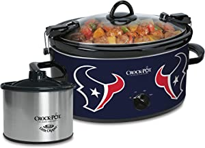 Crock-Pot Houston Texans NFL 6-Quart Cook & Carry Slow Cooker