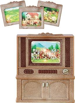 Amazon.es: Sylvanian Families Televisor color luxury, multicolor ...
