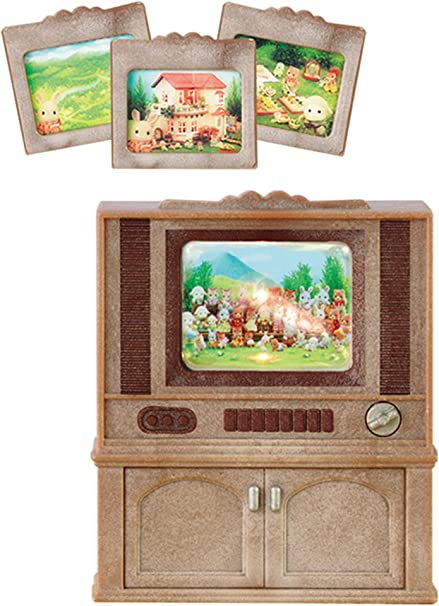 Amazon.es: Sylvanian Families Televisor color luxury, multicolor (Epoch para Imaginar 4264), color/modelo surtido: Juguetes y juegos