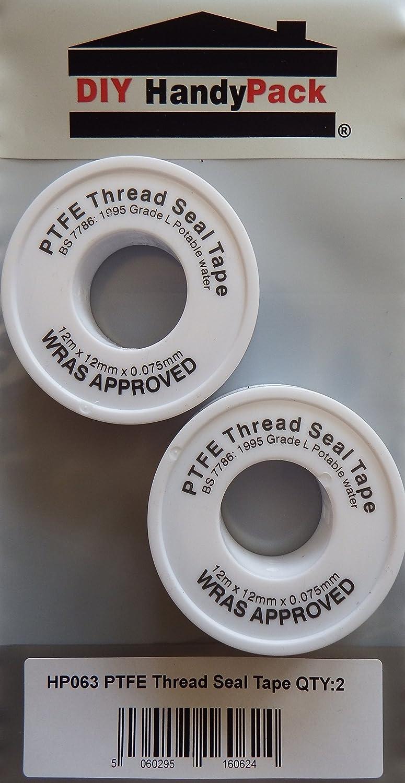 DIY HandyPack - PTFE Plumbing Thread Seal Tape (Pack 2) DIY Trade Supplies