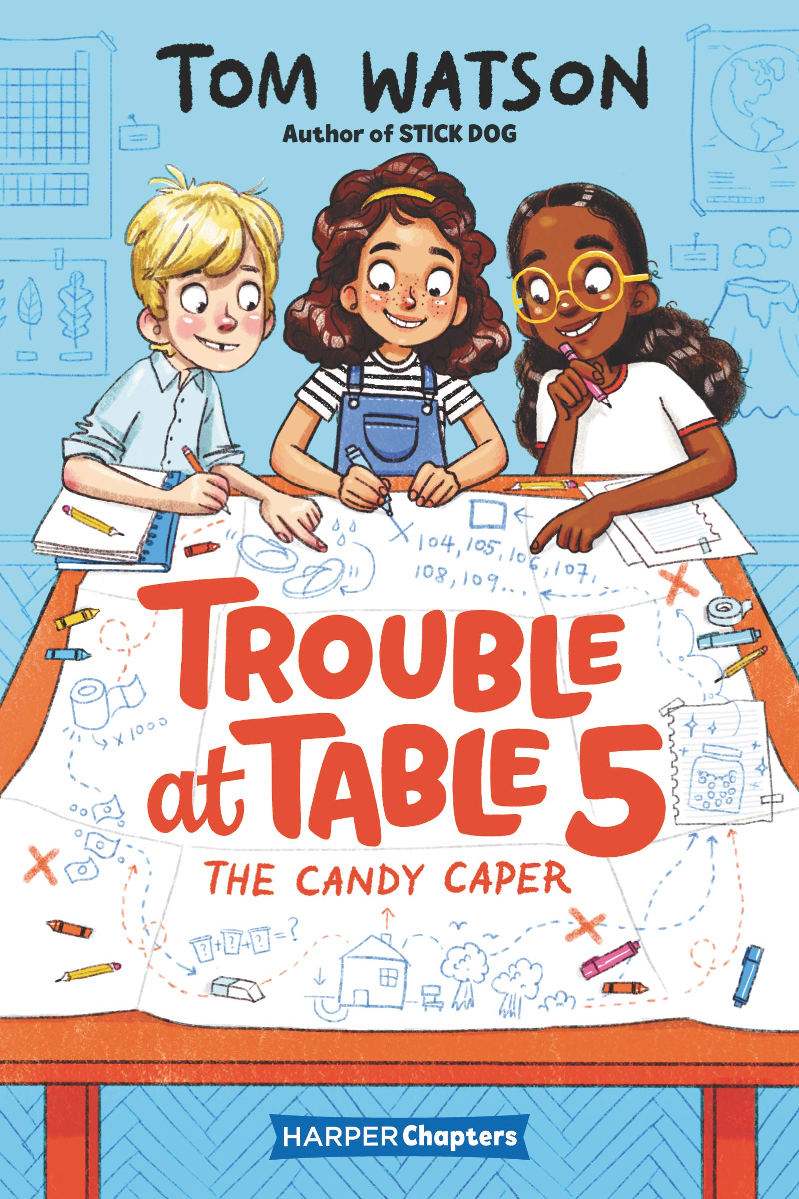 Image result for trouble at table 5 candy