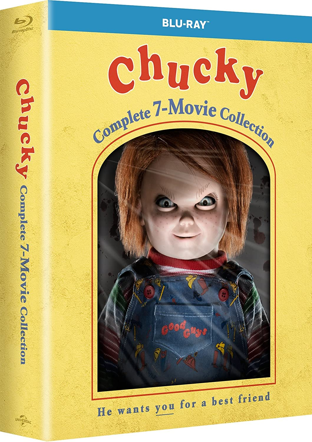 Amazon.com: Chucky: Complete 7-Movie Collection [Blu-ray]: Catherine ...