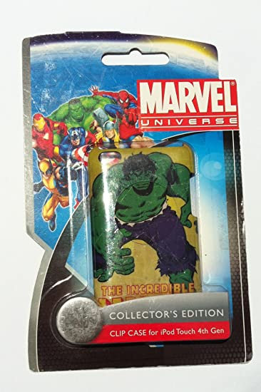 Performance Designed Products IP-1387 Marvel Hulk Collectors Edition Clip Case for iPod Touch 4 - 1 Pack