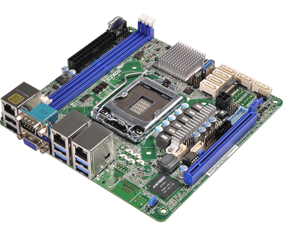 ASRock Rack Motherboard E3C236D2I: Amazon co uk: Computers & Accessories