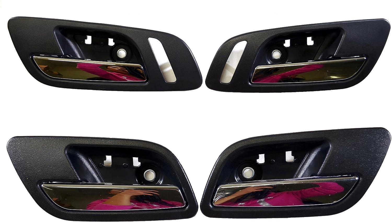 2005 Cadillac ESCALADE EXT Door mount spotlight Larson Electronics 1015P9JCCQG 6 inch Passenger side WITH install kit -Black LED