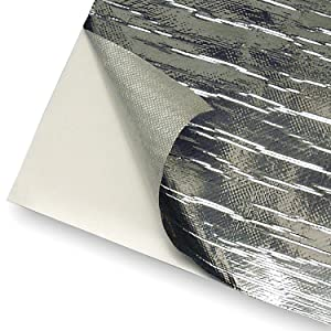 "Design Engineering 010412 Reflect-A-Cool Heat Reflective Adhesive Backed Sheets, 36"" x 48"""