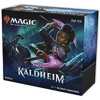 Magic The Gathering Kaldheim Bundle | 10 Draft Boosters (150 Magic Cards) + Accessories