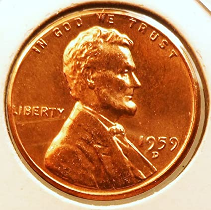 1999 D Lincoln Memorial Penny ~ Uncirculated Cent from Bank Roll
