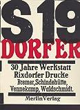 30 Jahre Werkstatt Rixdorfer Drucke: Katalog
