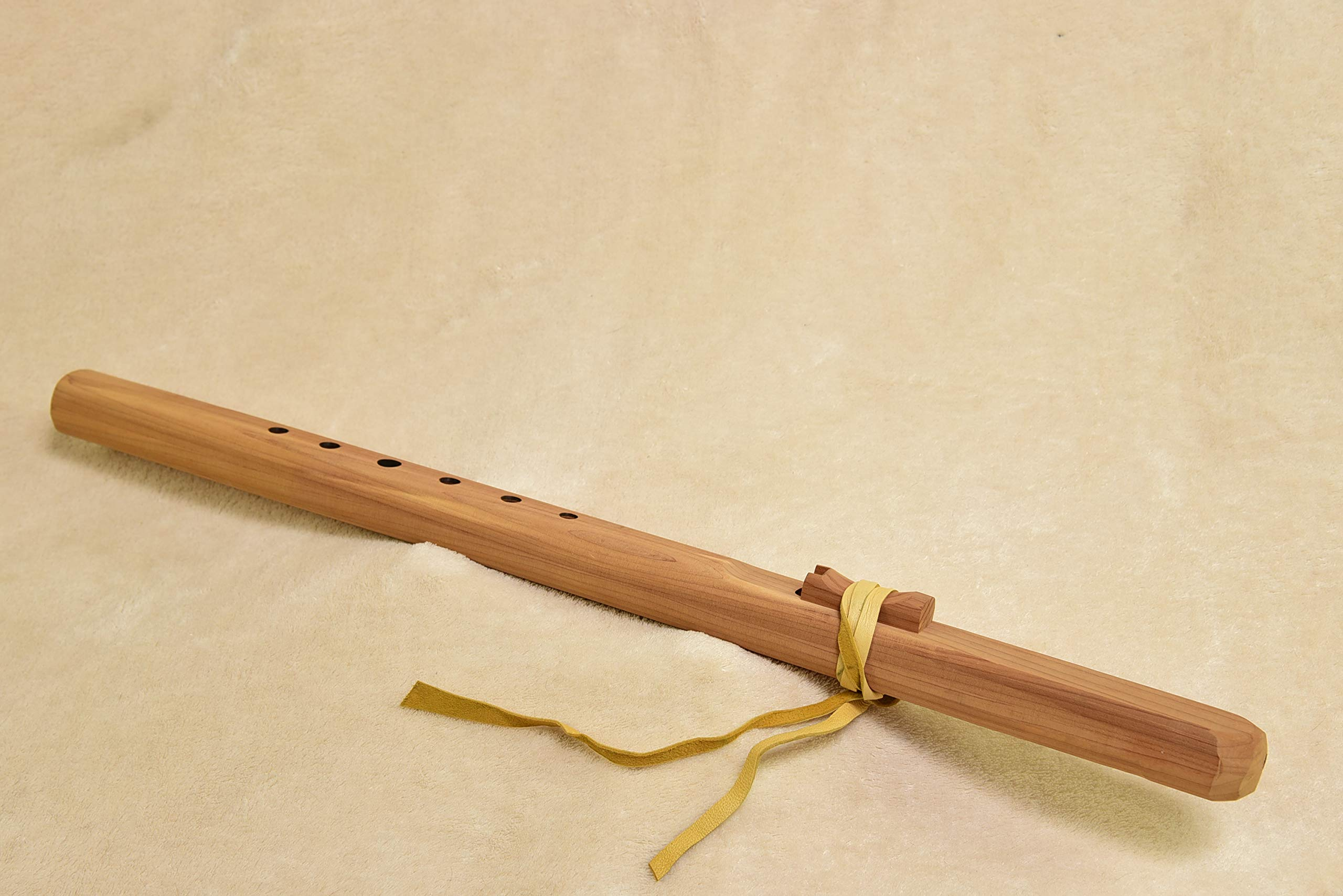 Windpony Unfinished Cedar Flute in the Key of F#
