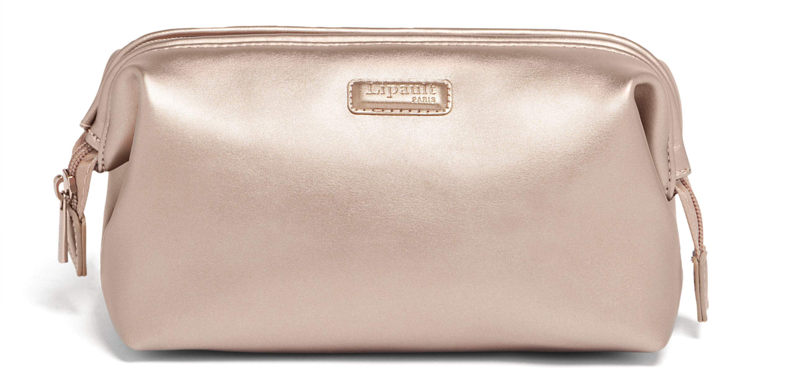 Lipault - Miss Plume Toiletry Kit - Compact Travel Organizer Bag for Women - Pink Gold