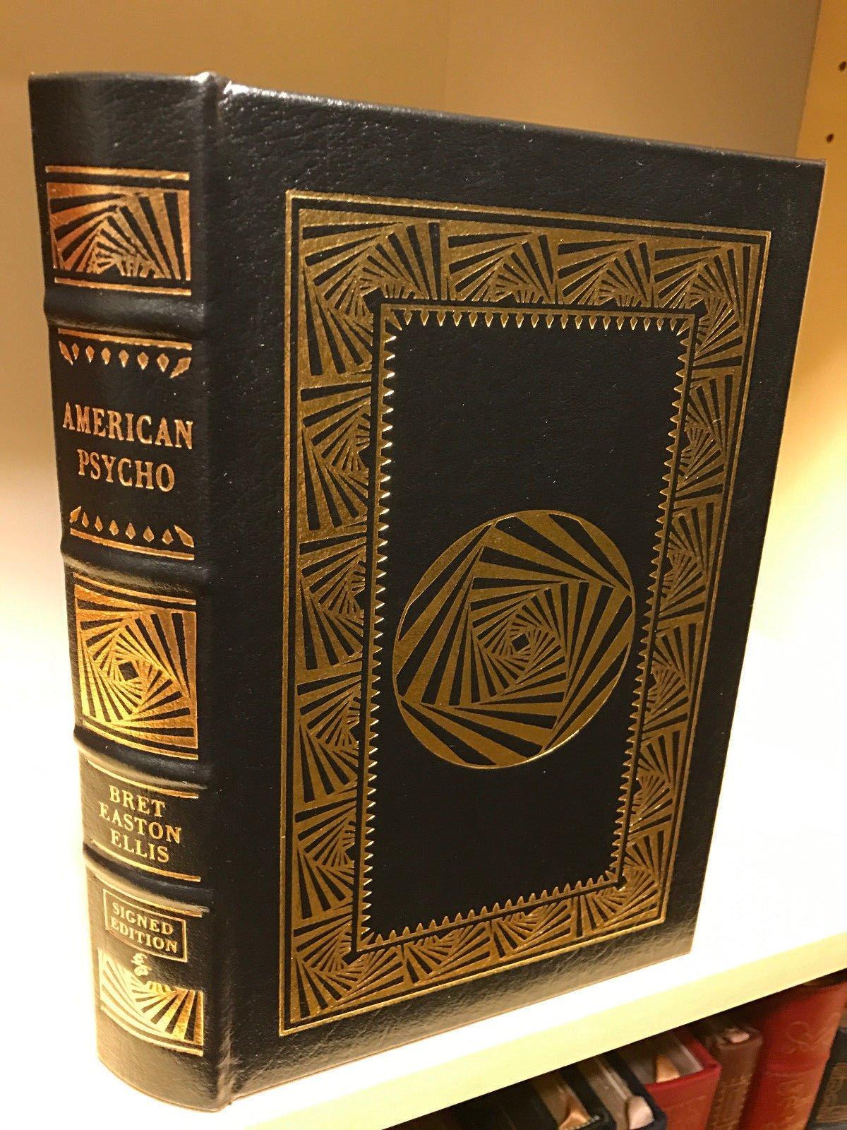 American psycho signed edition: bret easton ellis: amazon. Com: books.