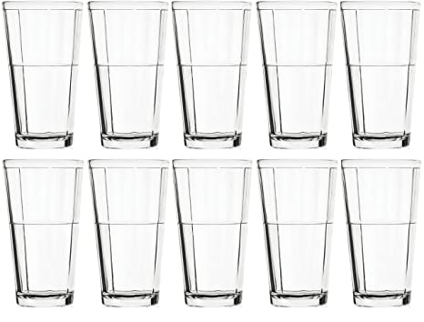 18390648c51 Image Unavailable. Image not available for. Color: Circleware Pavillion Set  of 10 Drinking Glasses ...