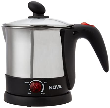 Nova NKT 2725 Cordless Kettle  Silver  Kettle and Toaster Sets