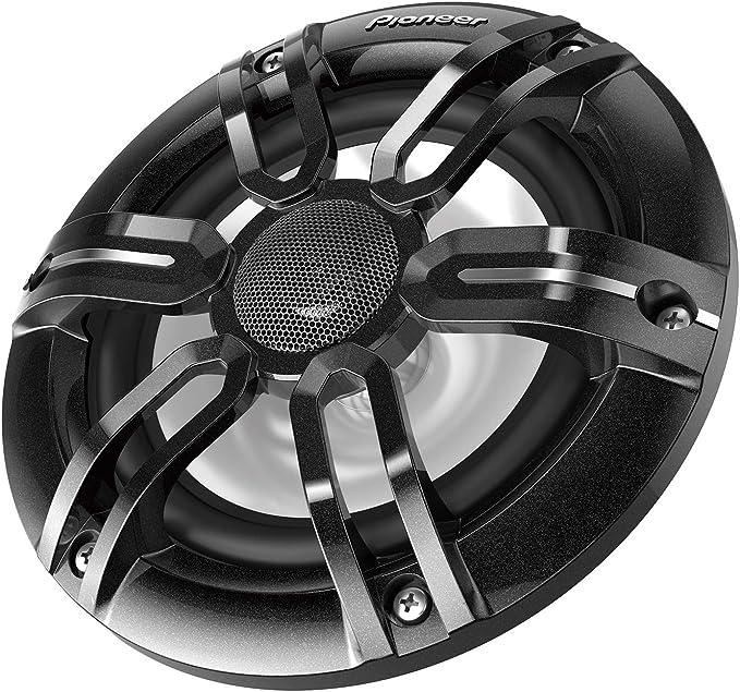 Pioneer Ts Me650fs Marinetauglicher 2 Wege Koaxial Lautsprecher Gitter In Schwarz Und Weiss Audio Hifi