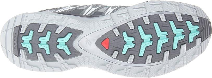 Salomon XA PRO 3D - Zapatillas de correr en montaña para mujer, Gris - Grau (Light Onix/Dark Cloud/Softy Blue), 37 1/3: Amazon.es: Zapatos y complementos