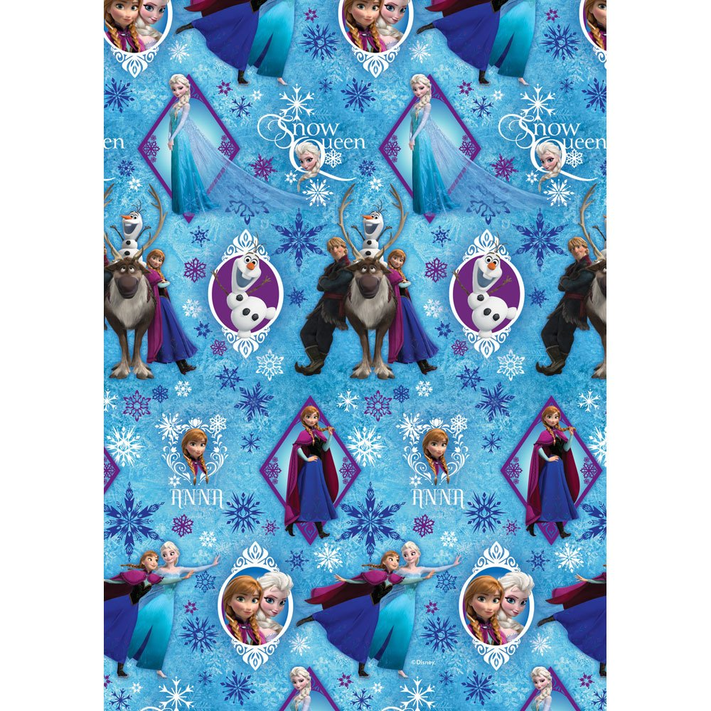 New Official Disney Frozen Gift Wrap Roll - Ideal wrapping paper ...