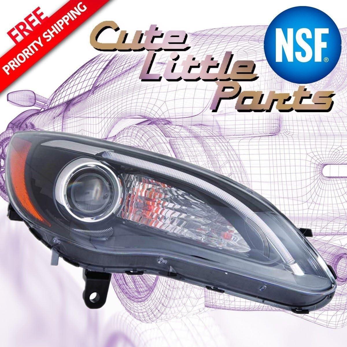 S MODEL PASSENGER SIDE NSF Depo 333-1192R-AFN7 Head Lamp Assembly