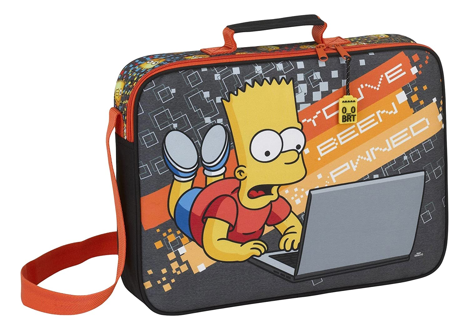 Los Simpsons - Cartera Bandolera extraescolares (SAFTA 611705385)https://amzn.to/2OvG8Up