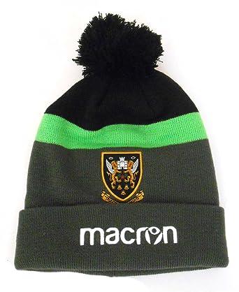 uk - green Northampton Adults Black 18 Amazon Macron Beanie co Pom Saints Clothing Rugby Size anthracite 2017
