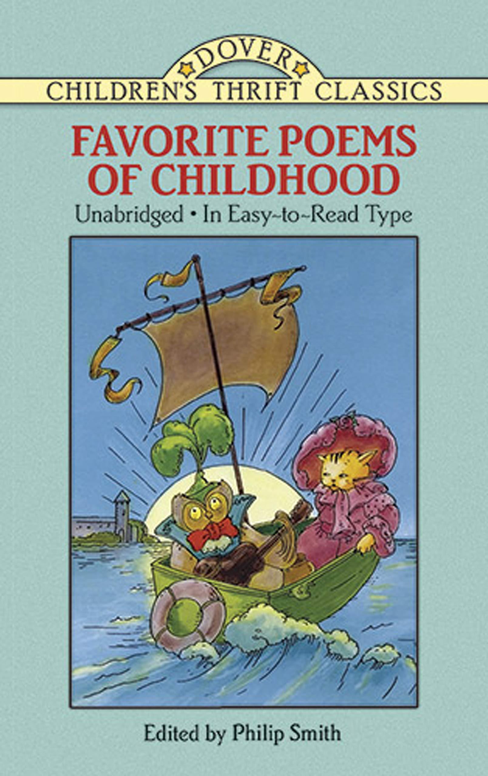 Favorite Poems of Childhood (Dover Children's Thrift