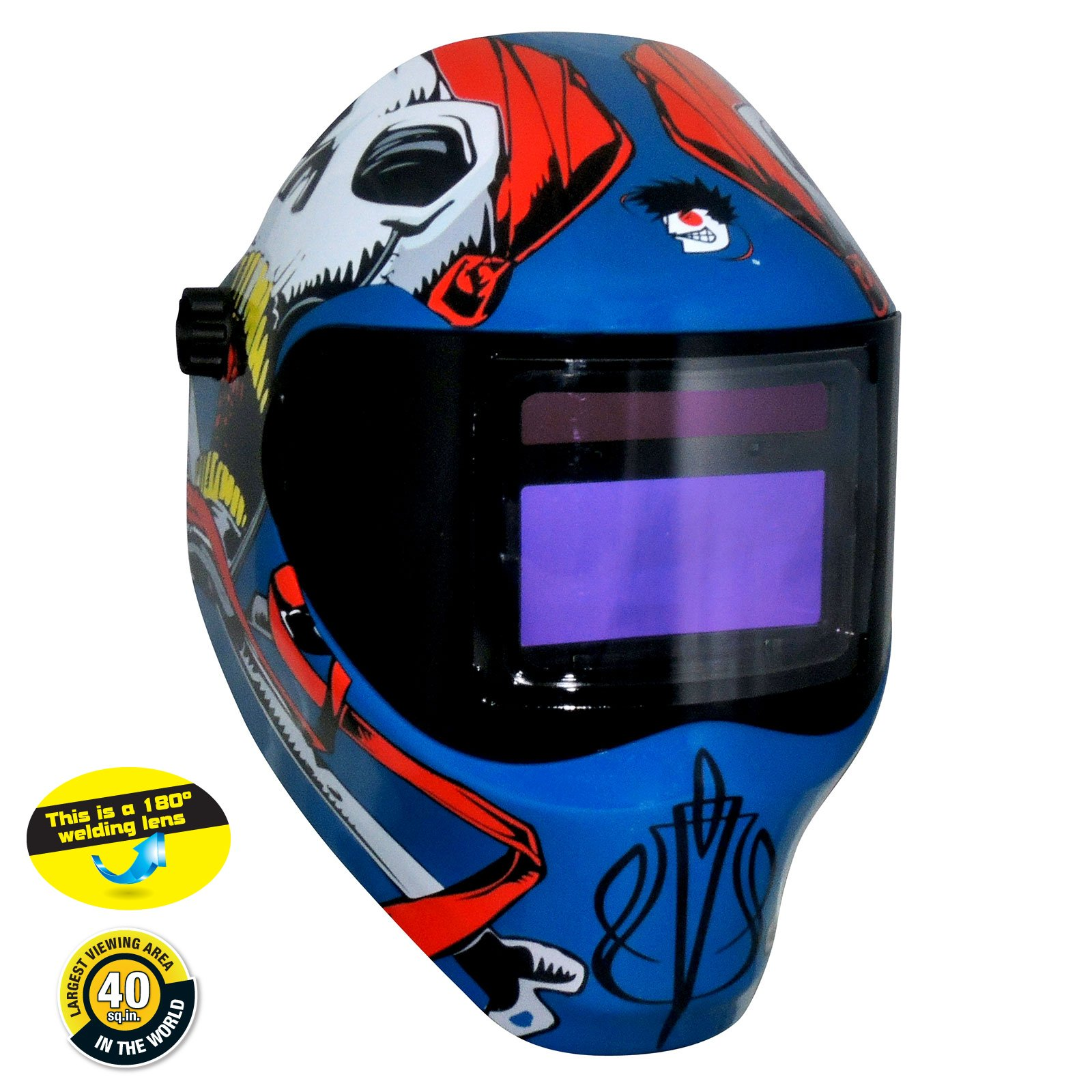 Save Phace 3011698 Captain Jack 40-Vizl4 Series Welding Helmet